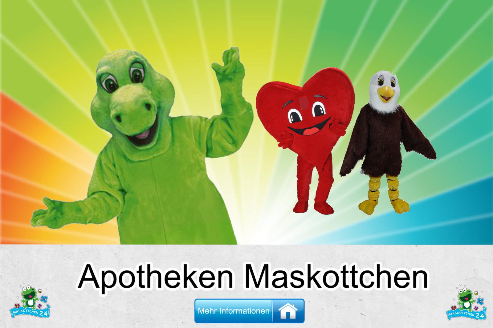 Apotheken Maskottchen Verein Karneval Produktion günstig kaufen
