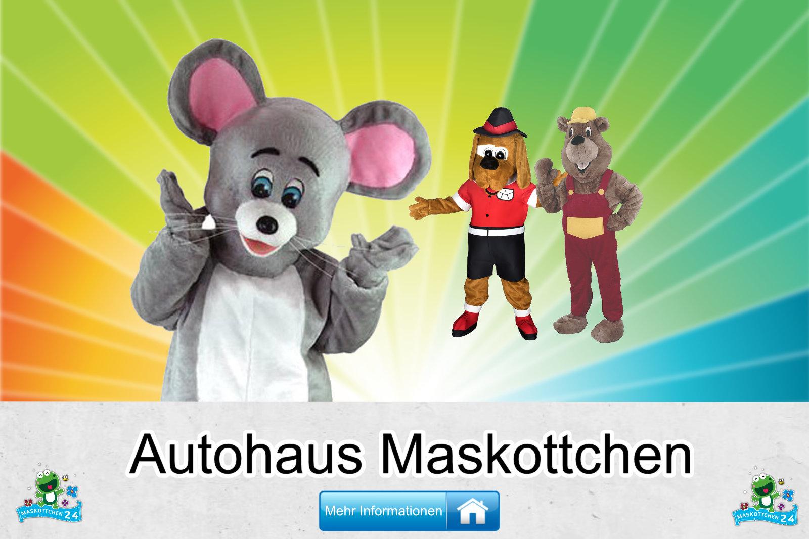 Autohaus Maskottchen Verein Karneval Produktion günstig kaufen