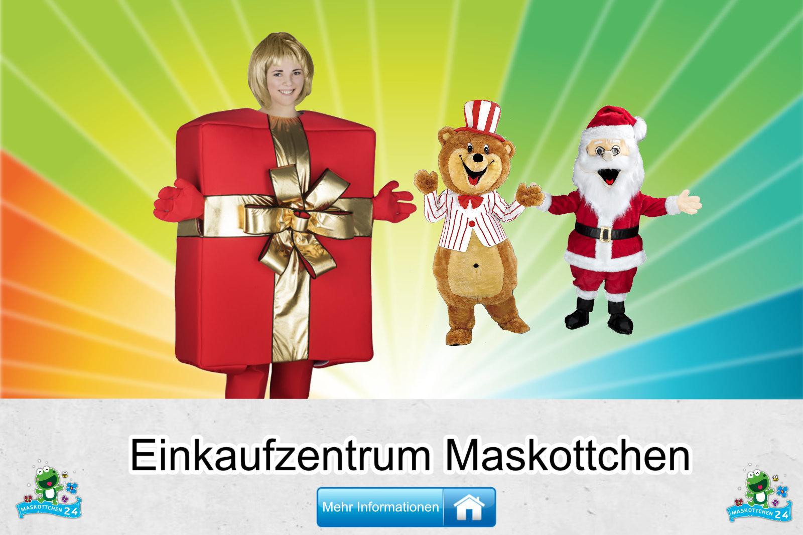 Einkaufszentrum Maskottchen Verein Karneval Produktion günstig kaufen