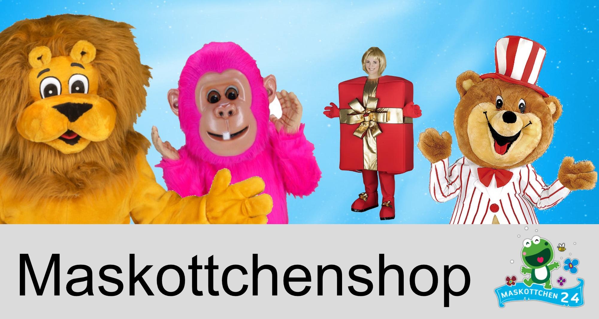 Shopmaskottchen Kostüme