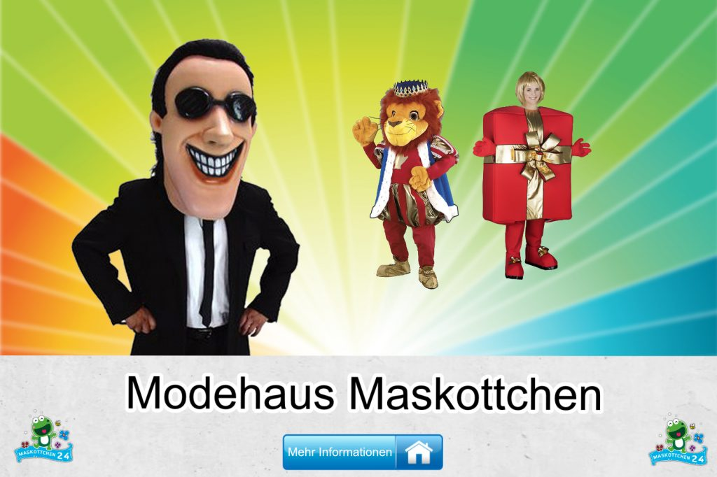 Modehaus Kostüme Maskottchen Karneval Produktion Firma Bau