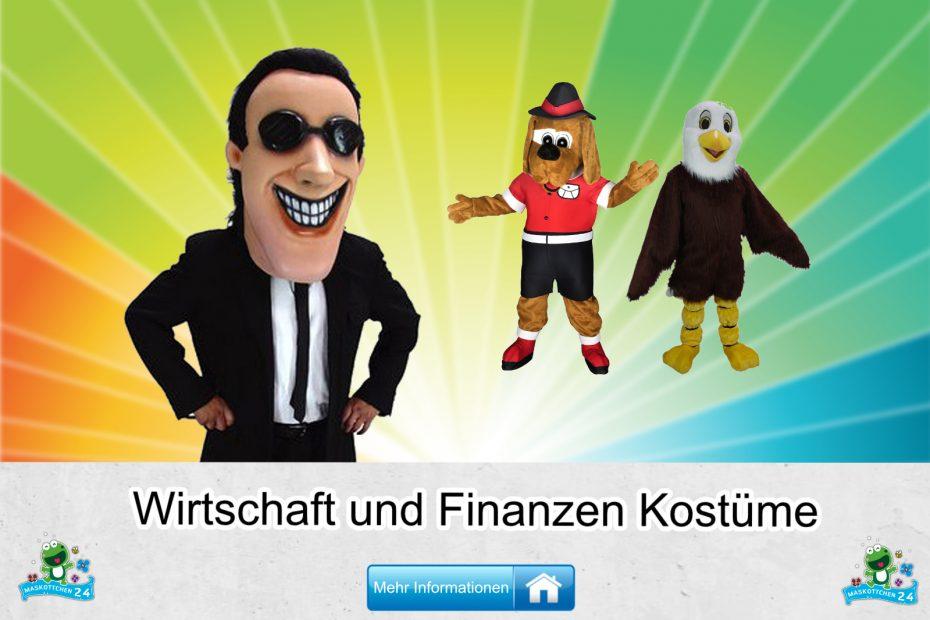 Wirschaft Finanzen Kostüme Maskottchen Karneval Produktion Firma Bau
