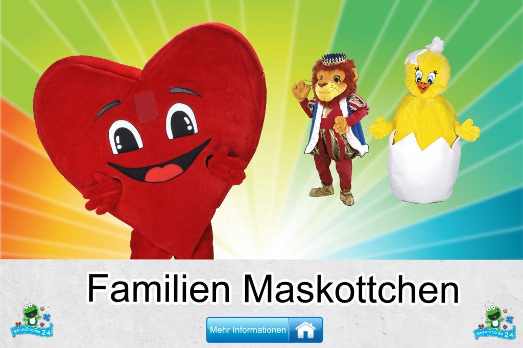 Familien-Kostueme-Maskottchen-Karneval-Produktion-Firma-Bau