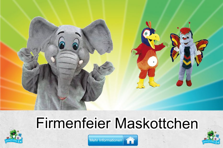 Firmenfeier-Kostueme-Maskottchen-Karneval-Produktion-Firma-Bau